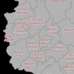 Bistum Trier Karte.Kirchenatlas
